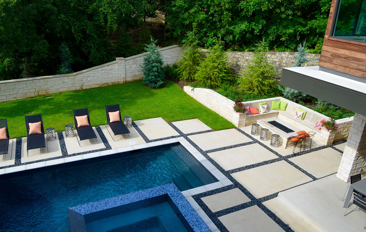 dallas modern landscape design